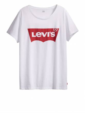 "Shirt ""The Perfect Tee"" mit Frontmotiv Levi's weiß"