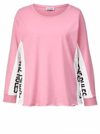 Shirt mit Statementprint Angel of Style Rosé