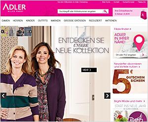 Adlermode.com Online Shop