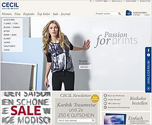 Cecil.de Online Shop