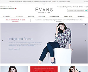 EvansMode.de Online Shop