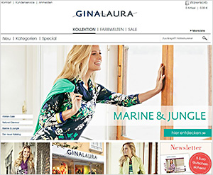 Gina-Laura.com Online Shop