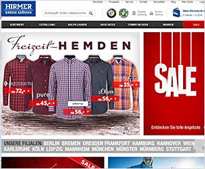 Hirmer-grosse-Groessen.de Online Shop