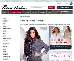 Peterhahn.de Online Shop