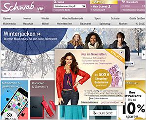 Schwab.de Online Shop