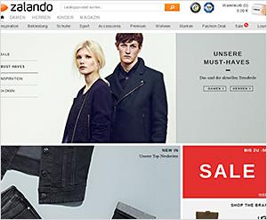 Zalando.de Online Shop